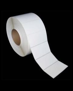 "4 x 2, 1-Across, Direct Thermal Labels, Premium, White, Paper, Freezer-Grade, perf, Core ID/OD 3""/8"", 3000/Roll, 4 Rolls/Case, 12000/Case, Price/Case - L-DF-40201P"