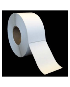 """3 x 5, 1-Across, Direct Thermal Labels, Standard, White, Paper, Perm, perf, Core ID/OD 3""""/8"""", 1200/Roll, 8 Rolls/Case, 9600/Case, Price/Case - 3050LH1D10S"""