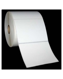 """4 x 3, 1-Across, Thermal Transfer Labels, White, Paper, Perm, perf, Core ID/OD 1""""/5"""", 930/Roll, 12 Rolls/Case, 11160/Case, Price/Case - L-ST-40301P51"""
