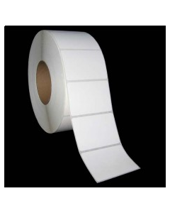 """3 x 2, 1-Across, Direct Thermal Labels, Standard, White, Paper, Perm, perf, Core ID/OD 3""""/8"""", 3000/Roll, 8 Rolls/Case, 24000/Case, Price/Case - DSP300200P1P38G"""