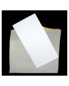 4 x 8, 1-Across, Direct Thermal Labels, Premium Fanfold, White, Paper, Perm, perf, Fanfold, 1000/Stack, 2 Stacks/Case, 2000/Case, Price/Case - RD-4-8-1000-FF